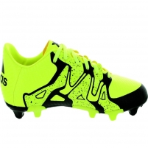 Futbolo bateliai adidas X15.3 FG/AG J Futbolo apranga