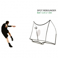 Futbolo kamuolio atmušimo sienelė QuickPlay 244x152x100cmx Futbolo vartai, tinklai