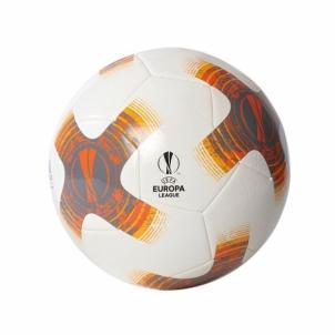 Futbolo kamuolys adidas CAPITANO BQ1866, baltas/pilkas-oranžinis