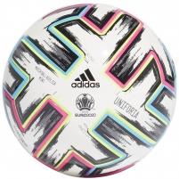 Futbolo kamuolys adidas EURO2020 UNIFORIA MINI FH7342 white Soccer balls