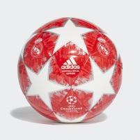 Futbolo kamuolys ADIDAS FINALE 18 CAPITANO REAL MADRYT CW4140 red-white, white logo Futbolbumbas
