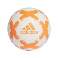 Futbolo kamuolys adidas STARLANCER FL7036 white, orange logo Futbolo kamuoliai
