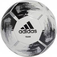 Futbolo kamuolys adidas TEAM GLIDER CZ2230 white, black logo Futbolo kamuoliai