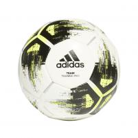 Futbolo kamuolys adidas TEAM TRAINING PRO CZ2233 white/black yellow Futbolo kamuoliai
