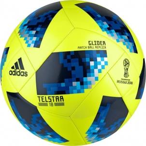 Futbolo kamuolys adidas WORLD CUP 2018 GLIDER CE8097 geltonas Futbolo kamuoliai