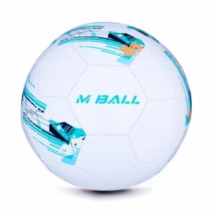 Futbolo kamuolys MBALL baltas