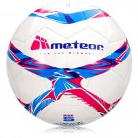 Futbolo Kamuolys METEOR 360 SHINY, Baltas / Spalvotas