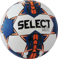 Futbolo kamuolys SELECT Contra Special, mėlynas Futbolbumbas