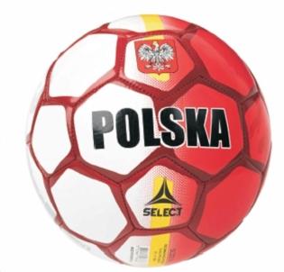 Futbolo kamuolys SELECT POLAND 35556 Bokso maišai