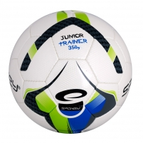 Futbolo kamuolys Spokey JUNIOR TRAINER Blue/Green