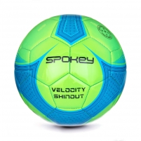 Futbolo kamuolys VELOCITY SHINOUT žalia/mėlyna Soccer balls