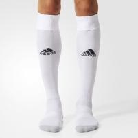 Futbolo kojinės Adidas Milano 16 AJ5905, white Futbolo apsaugos