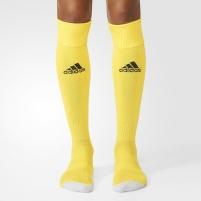 Futbolo kojinės Adidas Milano 16 AJ5909, geltonos, Dydis 37-39