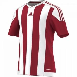 Futbolo marškinėliai adidas Striped 15 M S16137 Futbolo apranga