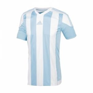 Futbolo marškinėliai adidas Striped 15 M S16139 Futbola apģērbi