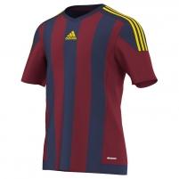 Futbolo marškinėliai adidas Striped 15 M S16141 Futbola apģērbi