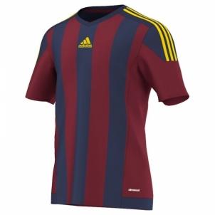 Futbolo marškinėliai adidas Striped 15 M S16141 Futbolo apranga