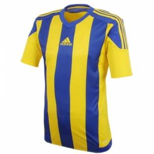 Futbolo marškinėliai adidas Striped 15 M S16142 Futbola apģērbi