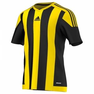 Futbolo marškinėliai adidas Striped 15 M S16143 Futbola apģērbi