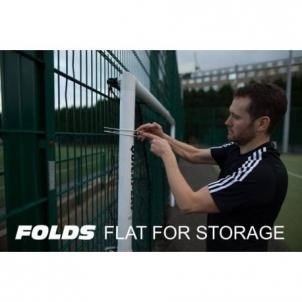 Futbolo vartai Quickplay Match 366 x 182 cm sulankstomi Futbolo vartai, tinklai