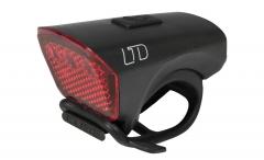 Galinė lempa Cube LTD Red LED black Apšvietimas dviračiams
