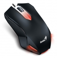 Gaming Mouse Genius X-G200 USB, black