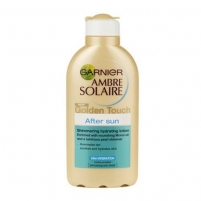 Garnier Ambre Solaire Golden Touch After Sun Shimmering Hydrating Lotion 200ml Saulės kremai