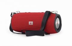 Garso kolonėlė Gembird portable Bluetooth speaker, 2x 5W, micro SD, USB, AUX, red