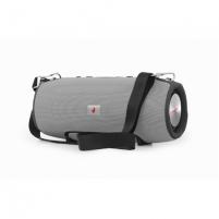Garso kolonėlė Gembird Power bank Bluetooth speaker Grey