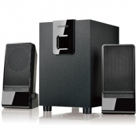 Microlab M-100 2.1 Speakers/ 10W RMS (2,5Wx2+5W)/ Volume Control on Satellite Audio speakers