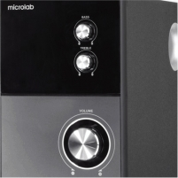Microlab M-223 2.1 Speakers/ 17W RMS (4Wx2+9W)/ Wooden