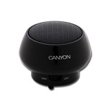 Multimedia - Speaker CANYON CNR-SPP02 (Mono, 2W, 100Hz-20kHz, USB, Black)