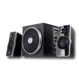 Multimedia - Speaker F&D A320 (2.1, 41W, 120Hz-20kHz, Subwoofer: 30Hz-130Hz, Wooden, Black) Skaļruņi