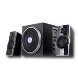 Garso kolonėlė Multimedia - Speaker F&D A320 (2.1, 41W, 120Hz-20kHz, Subwoofer: 30Hz-130Hz, Wooden, Black) Garso kolonėlės