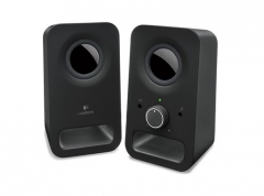 Garso kolonėlės LOGI Z150 Speaker 2.0 Midnight Black