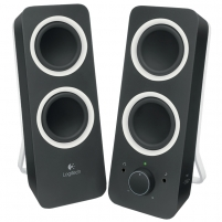 Garso kolonėlės Logitech Z200 Midnight Black Audio skaļruņi