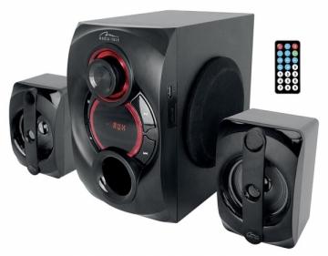 Garso kolonėlės VOLTRON 2.1 BT - 3-channels speaker set with Bluetooth and remote controller , Garso kolonėlės