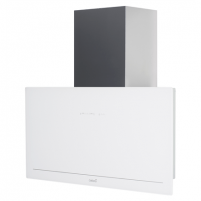 Garų surinktuvas CATA Goya 90 WH Wall mounted, Width 90 cm, 820 m³/h, White glass, Energy efficiency class A+, 64 dB Garų surinktuvai Gartraukiai
