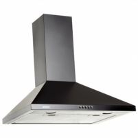 Garų surinktuvas Hood Eleyus Kvinta 750 60 BL LED Wall mounted, Width 60 cm, Black, Energy efficiency class D, 52 dB