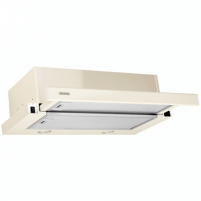 Steam collector Hood Eleyus Storm 700 60 BG LED Mechanical panel, Width 60 cm, 700 m³/h, Beige, Energy efficiency class D, 51 dB, Built-in telescopic