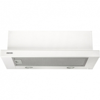 Garų surinktuvas Hood Eleyus Storm 700 60 BG LED Mechanical panel, Width 60 cm, 700 m³/h, White, Energy efficiency class D, 51 dB, Built-in telescopic Garų surinktuvai Gartraukiai