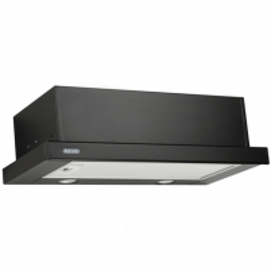 Garų surinktuvas Hood Eleyus Storm 960 60 BL LED Wall mounted, Width 60 cm, Black, Energy efficiency class D, 51 dB Garų surinktuvai Gartraukiai