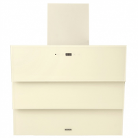 Steam collector Hood Eleyus Troy 1000 60 BG LED Wall mounted, Width 60 cm, 1000 m³/h, Beige, Energy efficiency class C, 48.6 dB