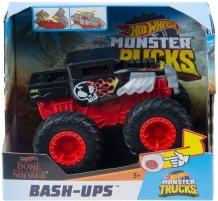 GCF94 / GCF95 Hot Wheels 1:43 Scale Bash Ups Monster Trucks, Styles May Vary