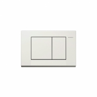 Geberit Bolero nuleidimo mygtukas, baltas Tupus sistēma