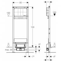 Geberit Duofix ShowerDrain dušo latako elementas Dušo sistemos