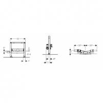 Geberit DuofixShowerDrain dušo latakas, H40 Dušo sistemos