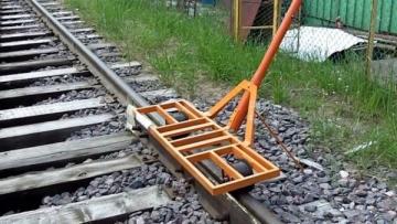 Geležinkelio vežimėlis ,,MODERON'' Geležinkelio kelio įrankiai