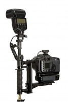 Specialus laikiklis Gembė Lastolite Camera Bracket Blyksčių paleidėjai, valdymo pultai, sinchronizavimo laidai