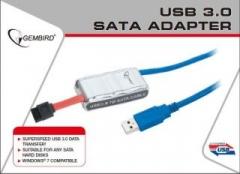Gembird Adapteris USB 3.0 prie SATA 2.5 ir 3.5 su maitinimo šalt.